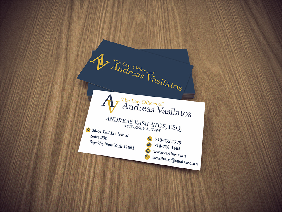 Lawyer Business Card | Law Firm Business Card | Bracha Designs